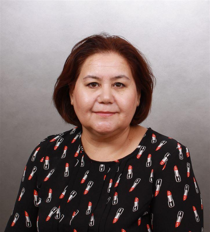Домработница Гульмира Курбанбаевна