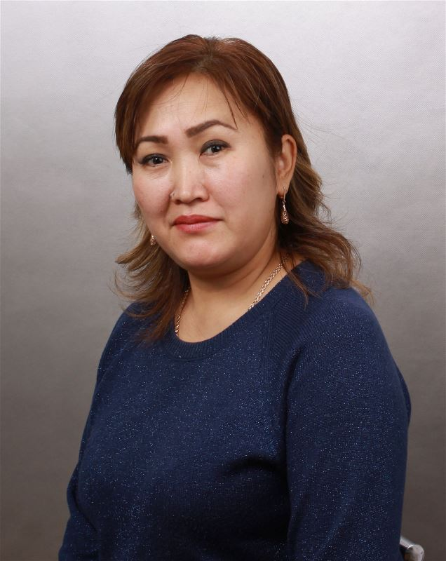 Помощник по хозяйству Тынаркан Кыштаковна