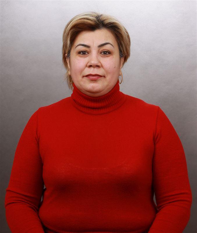 Домработница Гульзира Менлиевна