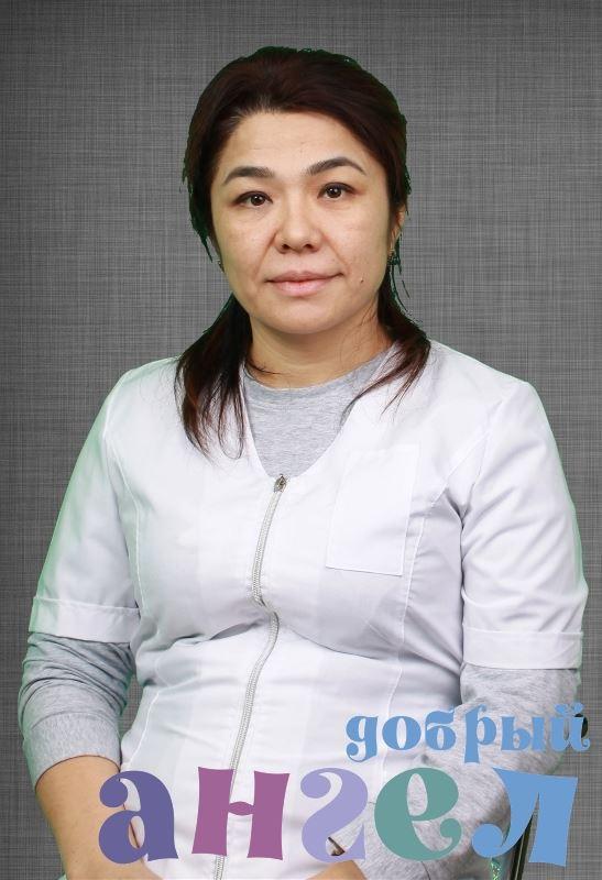 Сиделка Наргиза Махаммаджановна